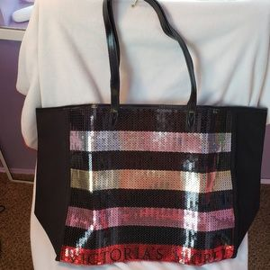 Victoria's Secret Bags - Victoria's Secret Sequin tote